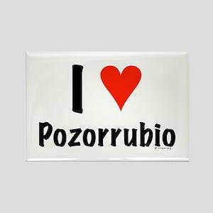 I love Pozorrubio Rectangle Magnet