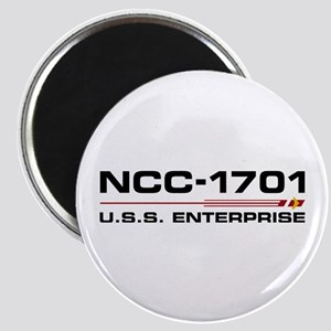 USS Enterprise - Discovery Edition Magnets