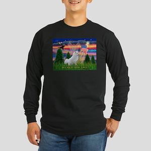 Blessed / Eskimo Spitz Long Sleeve Dark T-Shirt