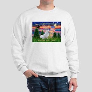 Blessed / Eskimo Spitz Sweatshirt