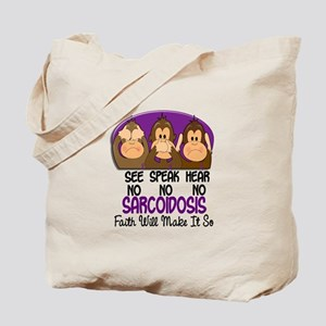 See Speak Hear No Sarcoidosis 1 Tote Bag