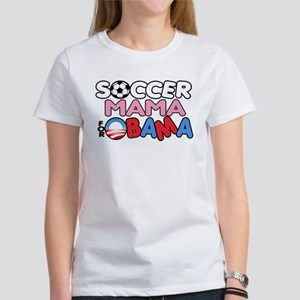 Soccer Mama for Obama Women's T-Shirt