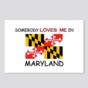 Somebody Loves Me In MARYLAND Postcards (Package o