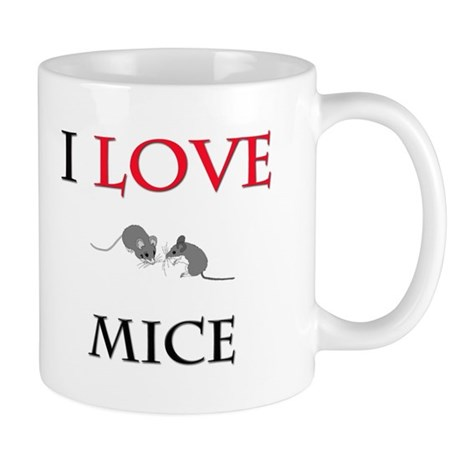 I Love Mice Mug