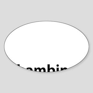 BAMBINA Oval Sticker