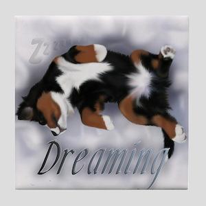 Dreamin Pup Tile Coaster