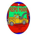 Repo Man Oval Ornament