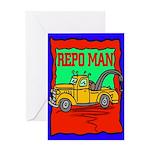 Repo Man Greeting Card