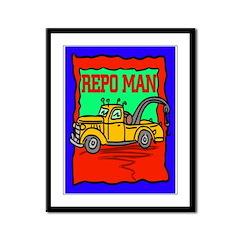 Repo Man Framed Panel Print