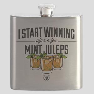 Kentucky Derby Mint Juleps Flask