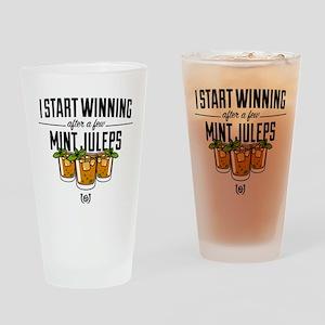 Kentucky Derby Mint Juleps Drinking Glass