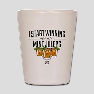Kentucky Derby Mint Juleps Shot Glass