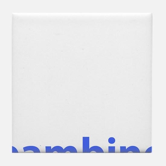 BAMBINO BABY BLUE Tile Coaster