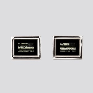 USS George H.W. Bush Rectangular Cufflinks