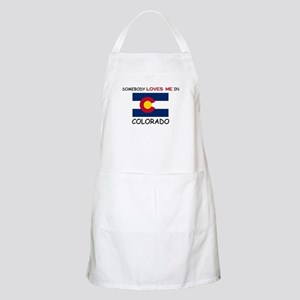 Somebody Loves Me In COLORADO BBQ Apron