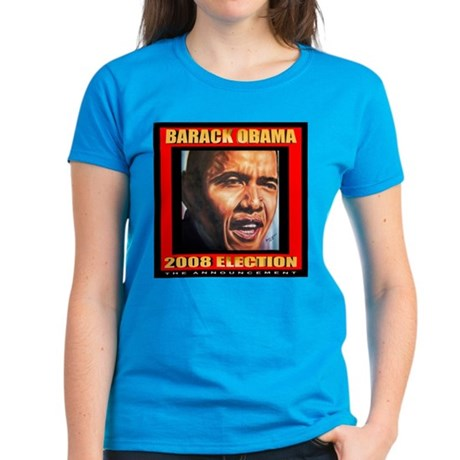 Obama's Souvenir Women's Dark T-Shirt