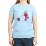 Woman bowling Women's Light T-Shirt
