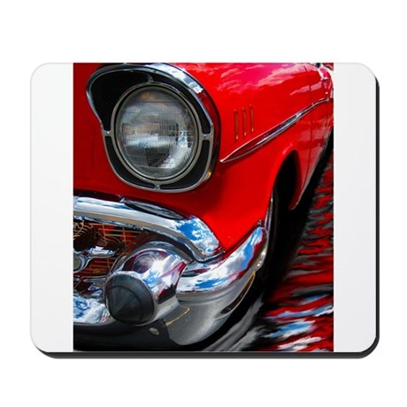 57 chevy bel air Mousepad