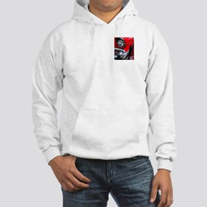 57 chevy bel air Hooded Sweatshirt