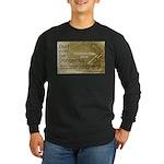 Dust Danger Long Sleeve Dark T-Shirt
