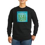 Infection Control Long Sleeve Dark T-Shirt