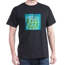 Infection Control Dark T-Shirt