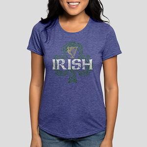 Irish Shamrock Erin Go Bragh Women's Dark T-Shirt