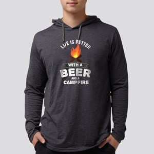 Life Is Better With Beer And C Long Sleeve T-Shirt