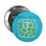 """Infection Control 2.25"""" Button (10 pack)"""