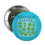 """Infection Control 2.25"""" Button"""