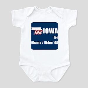 Iowa for Obama Infant Bodysuit