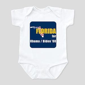 Florida for Obama Infant Bodysuit