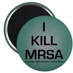 """Infection Control 2.25"""" Magnet (100 pack)"""
