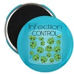 """Infection Control 2.25"""" Magnet (10 pack)"""