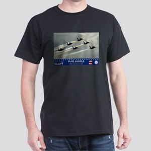 Blue Angel's F-18 Hornet Dark T-Shirt