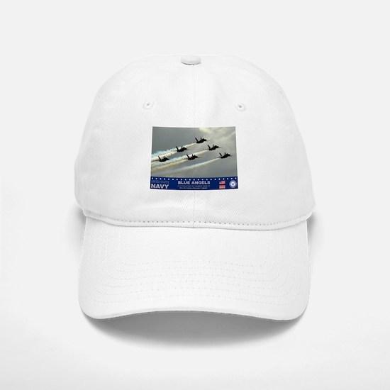 Blue Angel's F-18 Hornet Baseball Baseball Cap
