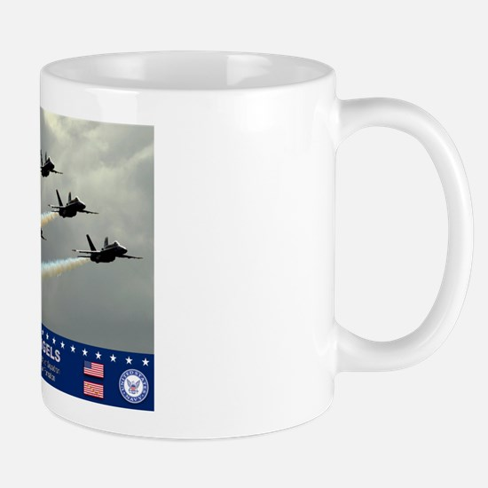 Blue Angel's F-18 Hornet Mug