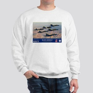 Blue Angel's F-18 Hornet Sweatshirt