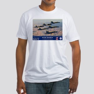 Blue Angel's F-18 Hornet Fitted T-Shirt