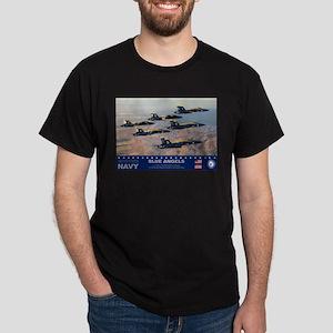 Blue Angel's F-18 Hornet Dark T-Shirt
