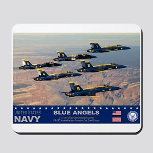 Blue Angel's F-18 Hornet Mousepad