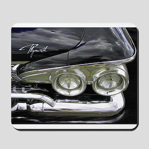 1960 BLACK FURY Mousepad