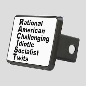 RACIST New Political Defin Rectangular Hitch Cover