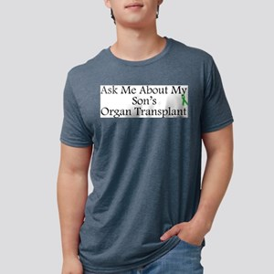 Ask Me Son Transplant Ash Grey T-Shirt