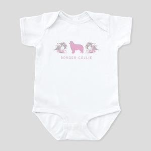 """Elegant"" Border Collie Infant Bodysuit"