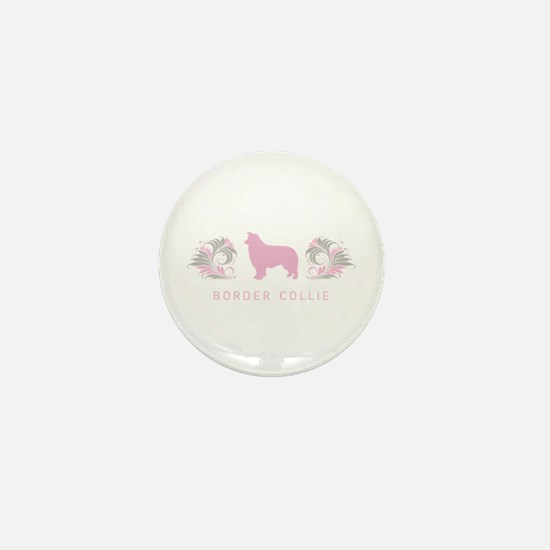 """Elegant"" Border Collie Mini Button"