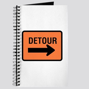 Detour Sign - Journal