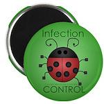 """IC Ladybug 2.25"""" Magnet (100 pack)"""