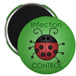 """IC Ladybug 2.25"""" Magnet (10 pack)"""
