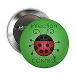 "IC Ladybug 2.25"" Button (100 pack)"